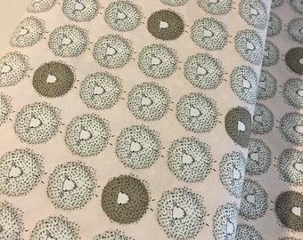 Sheep fabric, Sock Yarn Bag Fabric, Gift for Knitter, Rustic Home Decor, Sock Knitting Bag fabric, Woodland fabric, PINK, Choose the cut
