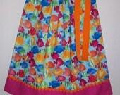 Pillowcase Dress with Fish Under the Sea Party Rainbow Fish Dress Aquarium Dress Summer Dresses Girls Dresses with Fish Summer Outfit