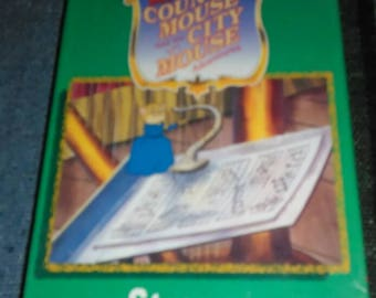 """Vintage 1997 Sealed The Country Mouse and the City Mouse Adventures """"Strauss Maus"""" VHS tape Childrens VHS Free Shipping"""