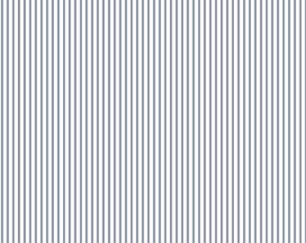 Dear Stella Dress Stripes Smoke 100% Cotton Fabric