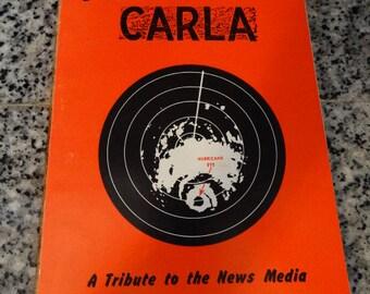 1961 Hurricane Carla: A Tribute to the News Media (Newspaper Radio Television) Paperback by Warren L. Hogan, Galveston Texas, Island