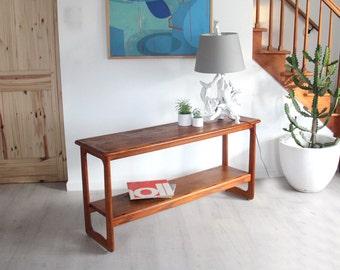 Lane Solid Teak Console / Sofa Table