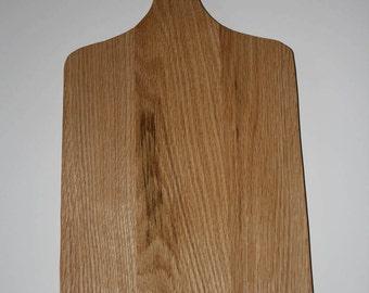 Oak Hardwood Cutting Board-Design 1