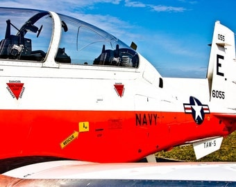 T-6B Texan II Training Aircraft Plane Fine Art Print
