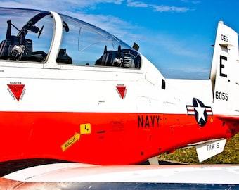 T-6B Texan II Training Airplane Fine Art Print