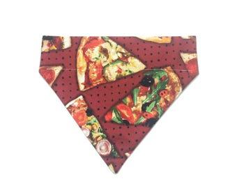 Pet Accessory - Pizza Slice - Over-the-Collar - Custom - Bandana, Bow Tie, Neck Tie, Flower