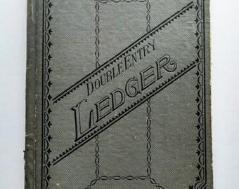 Vintage Ledger 1960's