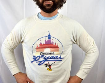 Vintage Disneyland Classic Souvenir Mickey Mouse Sweatshirt - 30th Year