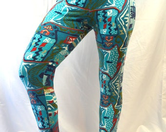 Vintage 80s Forenza WOW Spandex Stirrup Pants Leggings