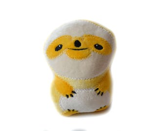 Rainbow Sloth | Sloth Plush Toy | Stuffed Sloth | Stuffed Sloth Plush | Rainbow Plush | Kawaii Plush Toy | Stuffed Animal | Sloth Animal