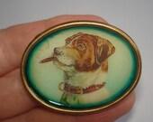 Terrier Dog Smoking   Brooch KL Design