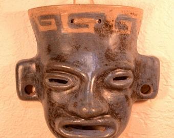 Aztec Warrior Mask Etsy