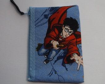 Harry Potter Fabric Coin Purse--Handmade