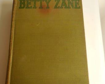 Betty Zane 1903
