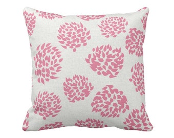 Floral Pillow Cover Raspberry Pop