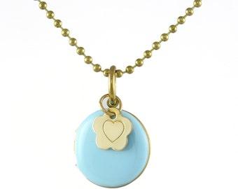 Locket Pendant, Valentines Day Pendant, Statement Pendant, Heart Charm, Valentines gift, Valentines Day Accessory, Heart Necklace
