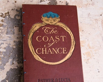 The COAST OF CHANCE Vintage Grid Lined Notebook