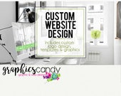 Custom Website Design - Installation and Design Service