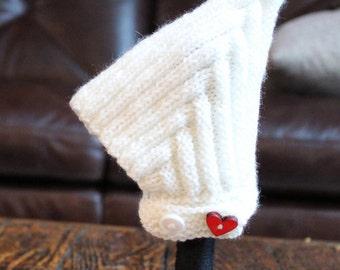Heart Pixie Bonnet - 6 months