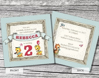 Little Ducky Invitations and Thank You cards (sold separately)