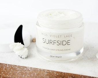 Hair Styling Cream   Tropical Citrus Hair Pomade   Vegan Hair Cream   100% Natural Cream for Hair