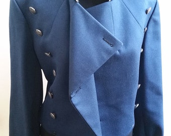 Blue Cadet Military Jacket