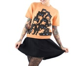 Short Sleeve Crazy Kitty Sweater