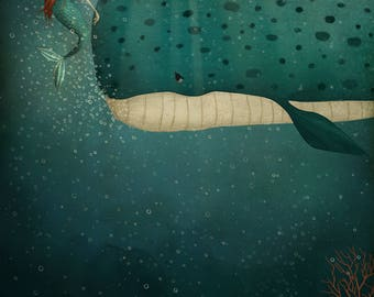 Under the sea - Art print (3 different sizes)