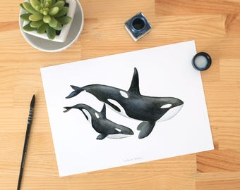 black and white animal print, black white nursery, black white nursery print, Black and white wall art, black and white illustration art