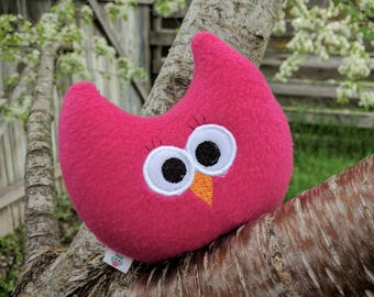 Quiet Plush Owl/Owl Plushie/Owl Toy for kids/Handmade Baby Toy/Stuffed Owl/Soft Owl Plushie/Room Decor/Baby Gift/Gift for Her/Comfort Toy