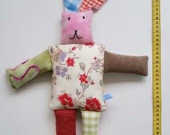 "Stuffed rabbit ""Rose"""
