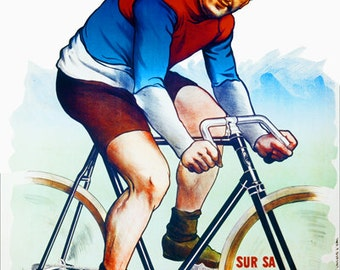 Jacquelin Bicycle Poster (#1320) 6 sizes