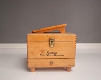 Vintage Ronson Roto-Shine Shoe Shine Box
