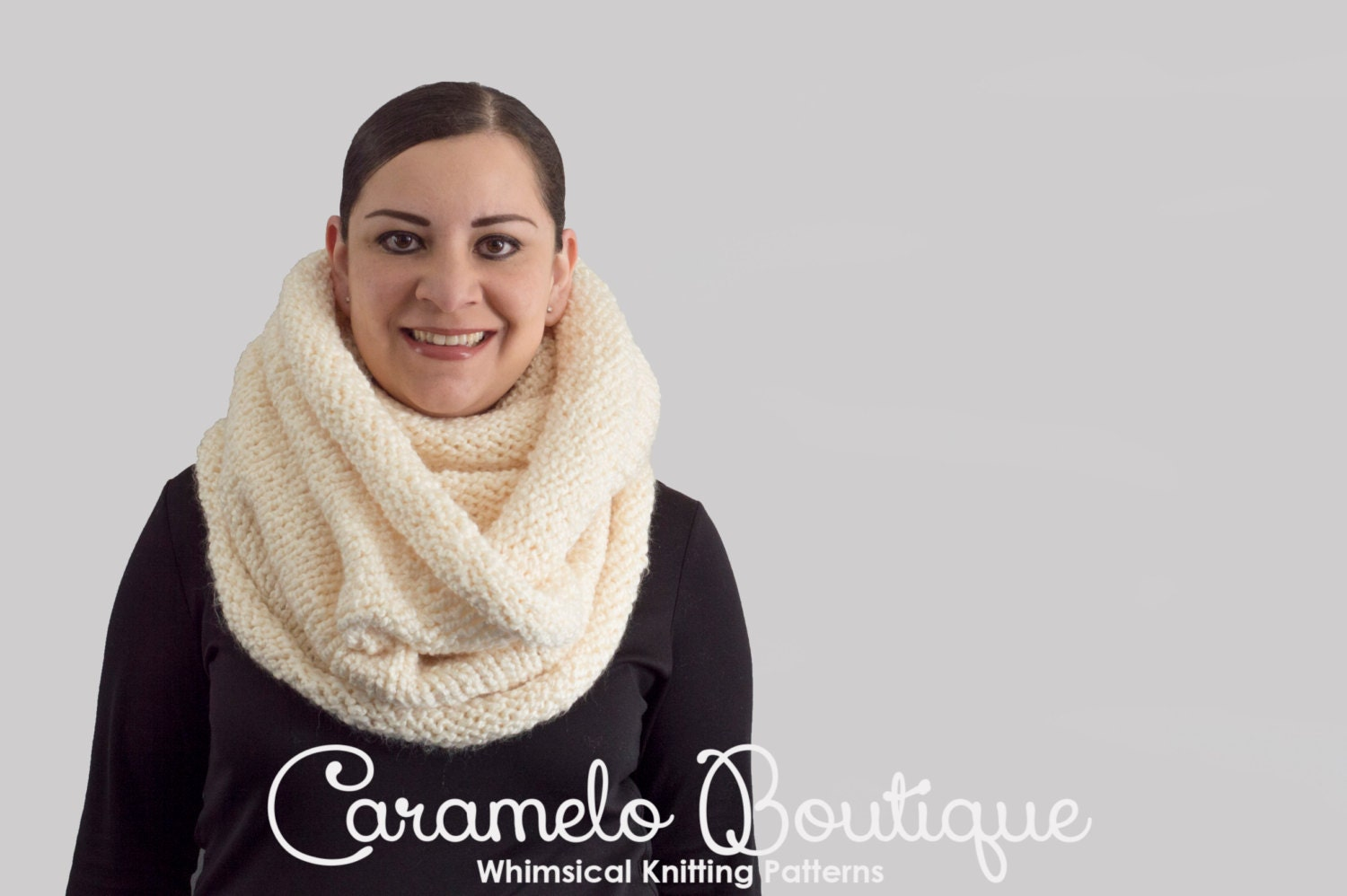Oversized infinity scarf instant download knitting pattern knit this is a digital file bankloansurffo Choice Image