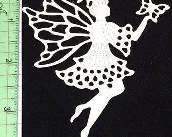 "Fairy Butterfly 3.75"" Die Cuts Card-Stock Set of 12"
