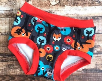 Owl trainers/ monkey trainers/ toddler trainers/ potty training underwear/ training pants