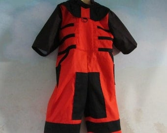 Baby/Toddler's Rocket Raccoon Costume: Guardians Of The Galaxy - Cosplay, Steampunk Jumpsuit - All Cotton, Size 6 Mths - 2T, Ready To Ship