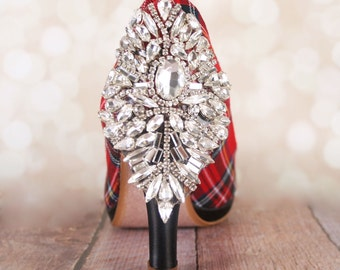 Shop for tartan wedding shoes on Etsy
