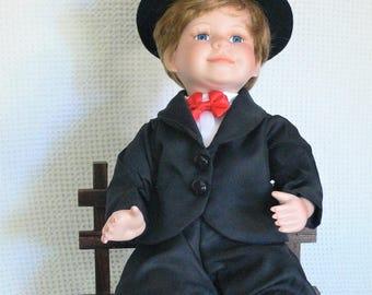 boy unmarked porcelain doll