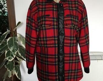 Complice (Genny) tartan jacket