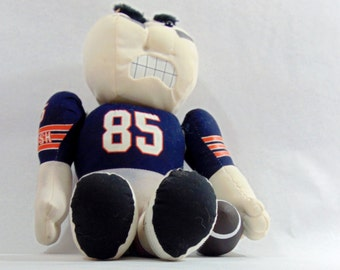 Chicago, Chicago Bears, Chicago Bears Vintage, Chicago Bears Baby, NFL, NFL Teams, Stress Relief, Stress Toy, Football, Mancave, Man Cave