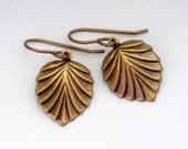 Art Deco Earrings - Metal Earrings - Antique Brass Nickel Free Earrings - Art Deco Jewelry - Dangle Earring -Drop Earrings (Toccara)