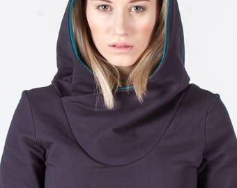 PIPPURI Kleid •COOKIE• - dunkelblau, petrol