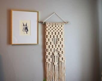 Macrame Wall Hanging//Tapestry/Fiber Art/Modern Macrame
