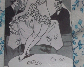 Vintage 1940s Adult Cheeky Collectible Postcards