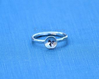 Dandelion Ring, Mini Wish Ring, Dandelion Seed Ring, Dandelion Jewelry, Silver Ring, Flower Ring, Statement Ring, Bohemian Jewelry, Boho
