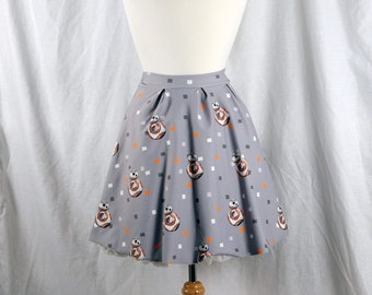 Star Wars Skirt featuring BB-8 from The Force Awakens