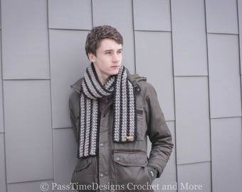 Scotsman Scarf crochet (finished product MADE TO ORDER)
