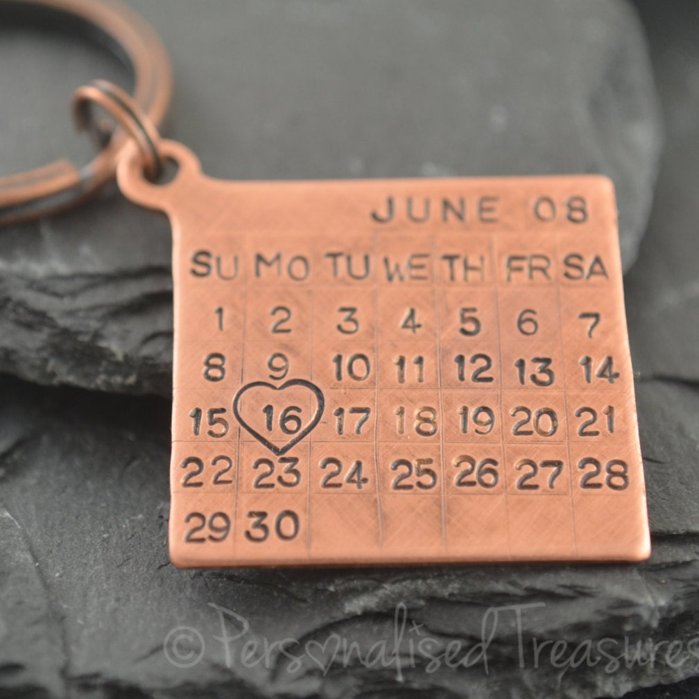Personalized Copper Gift. Copper Anniversary. Copper Gifts For