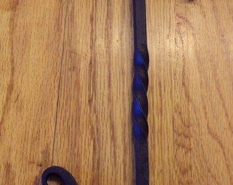 Hand Forged Over-the-Door Hook- Great for Hanging Wreaths or Other Decor or for Extra Closet Space!